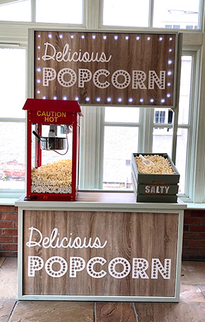 Booth Buddies Fresh Popcorn